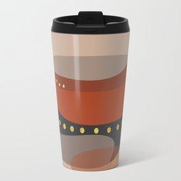 Modern minimal forms 5 Travel Mug