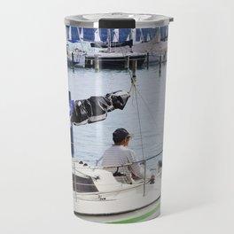 Summer at Lake Balaton Travel Mug