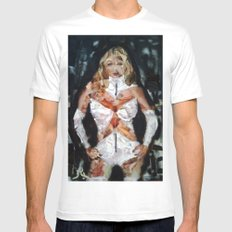 EMMA FROST MEDIUM Mens Fitted Tee White