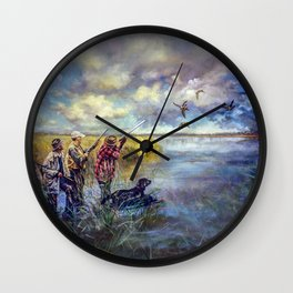 Hunters Wall Clock