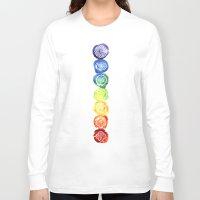 om Long Sleeve T-shirts featuring OM by Sara Eshak