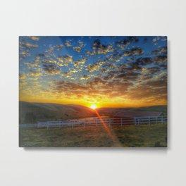 Sunrise on September 15th Metal Print