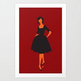 lady 5 Art Print