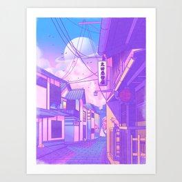 City Pop Kyoto Art Print
