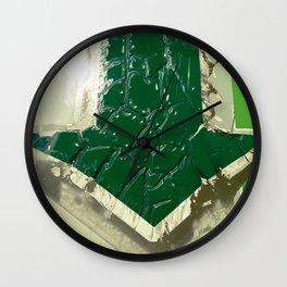 Urban Abstract 102 Wall Clock