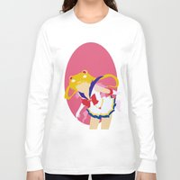 sailor moon Long Sleeve T-shirts featuring Sailor Moon by Polvo