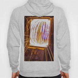 Graff Bomb - Light Painting in Abandoned Ruins Hoody