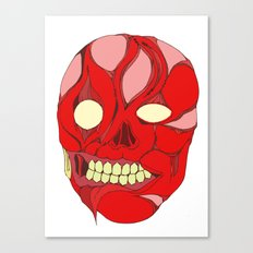 Naked Face Canvas Print