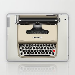 Vintage Typewriter Laptop & iPad Skin