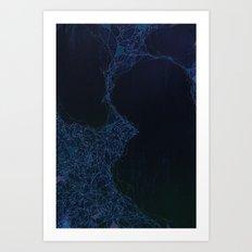 Nebulous Systems. Art Print