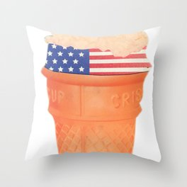 Deliciously American  Throw Pillow