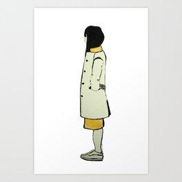 The Coat Art Print