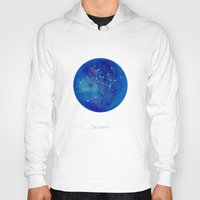 constellation Hoodies featuring Constellation Sagittarius  by ShaMiLa