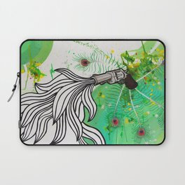 Beauty and the Death Machine Laptop Sleeve