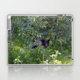 Mother bear hides in the trees- Canadian Rocky Mountains Laptop & iPad Skin