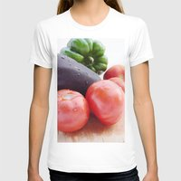 vegetables T-shirts featuring Vegetables by Carlo Toffolo