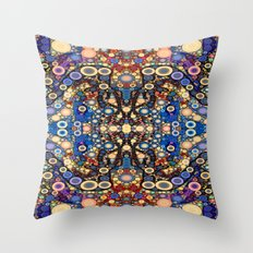 Blank Space and Disco Bass Throw Pillow