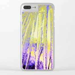 Ice Cicles Clear iPhone Case