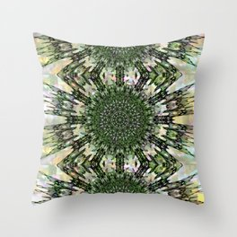 Quell - Squeezed in Q of Alphabet collection Throw Pillow