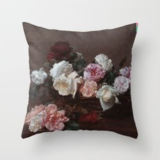 New Order - Power Corruption Lies Throw Pillow