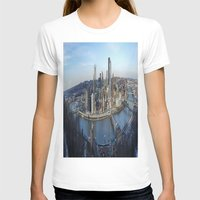 pittsburgh T-shirts featuring PITTSBURGH CITY by Stephanie Bosworth