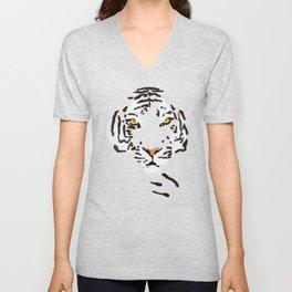 Tiger Unisex V-Neck