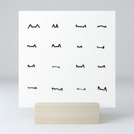 Coit Cat Pattern 6 Mini Art Print