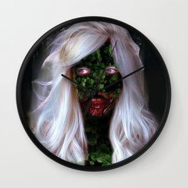 Ghost Of Laura Wall Clock