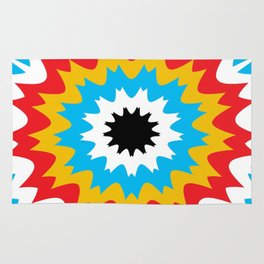 Color Burst Rug