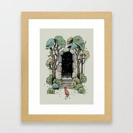 Forest Gate Framed Art Print