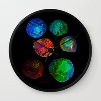 planets Wall Clocks featuring planets by clemm