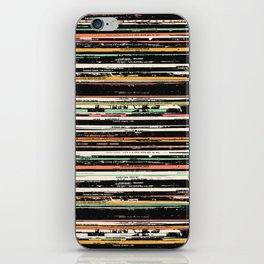 Recordsss iPhone Skin
