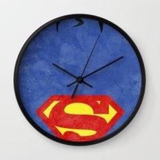 Supes Wall Clock