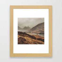 Etive Pass Framed Art Print