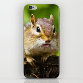 Caught With His Mouth Full iPhone Skin