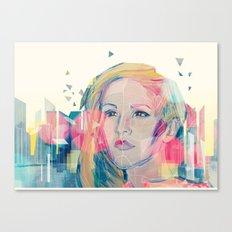 City Lights ANALOG zine Canvas Print