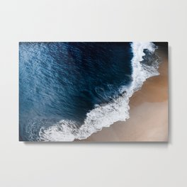 Deep blue shore Metal Print