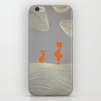 wonderland iPhone & iPod Skins featuring WONDERLAND by Ociaj