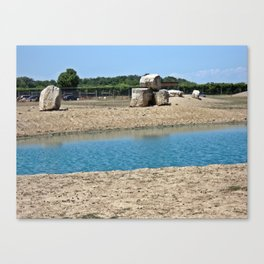 Welcome To The Watering Hole Canvas Print