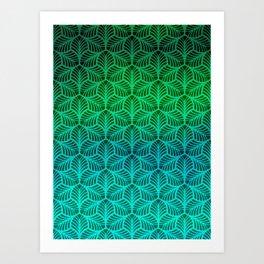 Palms 1 Art Print