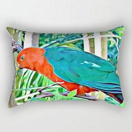 King Parrot Rectangular Pillow