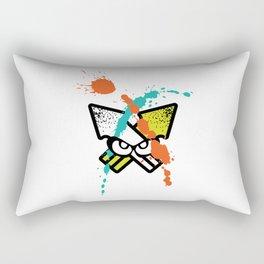 Splatoon - Turf Wars 4 Rectangular Pillow