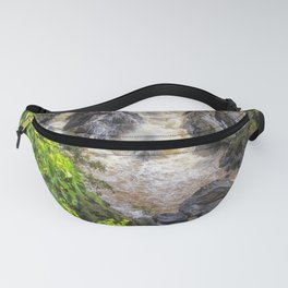 Waterfall in the rainforest Fanny Pack
