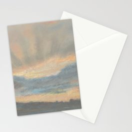 Sunset by Eugène Delacroix ca.1850, French Stationery Cards