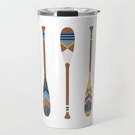 Painted Oars Travel Mug
