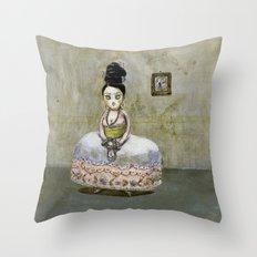 frida kahlos' grandgrandgrandmother Throw Pillow