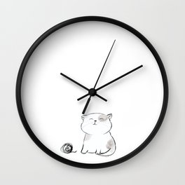 Play with me, Human. Wall Clock