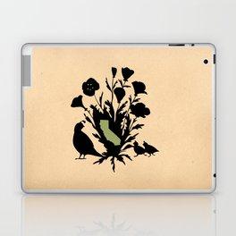 California - State Papercut Print Laptop & iPad Skin