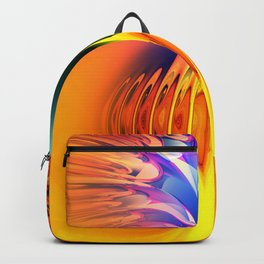 Abstract Composition 117 Backpack