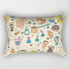 Spicy coffee Rectangular Pillow